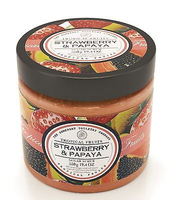 Tropical Fruits Strawberry & Papaya Sugar Scrub 550g