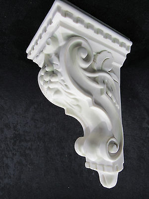 "Ever True 35-Ca-2P 9-13/16"" Raw Resin Ornamental Victorian Corbel Unpainted*nib*"