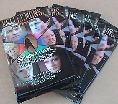 Star Trek Ccg Reflections : 1/2 Box - 15 Sealed Booster Packs New
