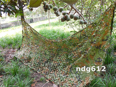 5x10ft Military Woodland Camouflage Camo Net Netting Camping Hunting Hide Shade