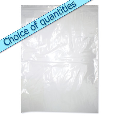 "Large clear grip seal zip lock heavy duty self seal bags 15"" x 20"" GL17"