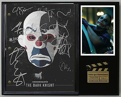 "The Dark Knight Limited Edition Reproduction Movie Script Cinema Display ""c3"""