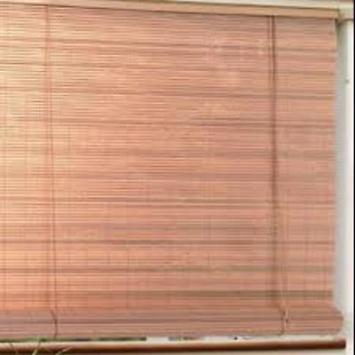 Bamboo Reed Blinds Indoor Outdoor Roll Up Shade Patio Window
