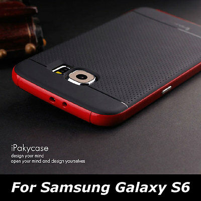 Hybrid Hard Bumper Frame Slim Protective Back Case Cover For Samsung Galaxy S6