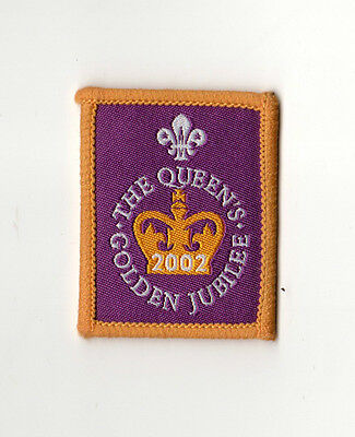 Scouts United Kingdom - UK The Queen's Golden Jubilee 2002
