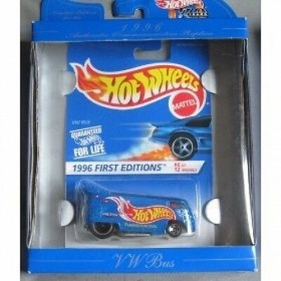 Hot Wheels 30th Anniversary Commerative Replica 1996 First Editions VW Drag Bus