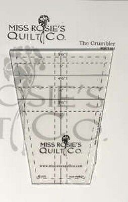 The Crumbler Tumbler Quilting Template Ruler by Miss Rosie's Quilt Co ~ 7.6cm to