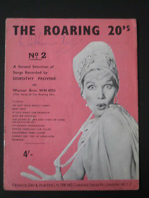 The Roaring 20 S No 2 Piano Vocal Chords Sheet Music Book Dorothy