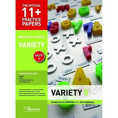 11+ Practice Papers Variety Pack 5 GL Assessment Pamphlet 9780708720509