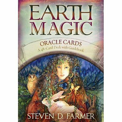 Earth Magic Oracle Cards Steven Farmer Hay House Inc 9781401925352