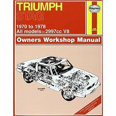 Triumph Stag Owners Workshop Manual J H Haynes Co Paperback / sof. 9780857336033