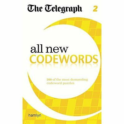 Telegraph All New Codewords 2 The Daily Hamlyn Paperback / softba. 9780600626060