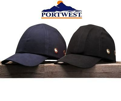 Bump cap Portwest PW59 safety cap, safety baseball cap Navy or Black safety hat