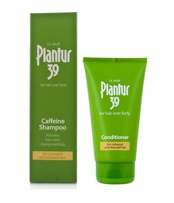 Plantur 39 Shampoo and Conditioner For Coloured Hair and Stressed Hair