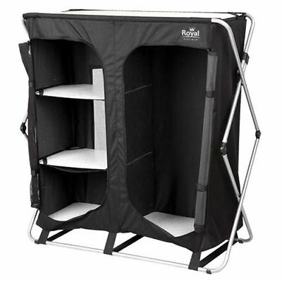 Royal Easy Up Wardrobe Camping Caravan Awning Storage Unit 355420