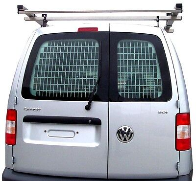 Van Guard Tailored Fit Rear Window Security Grille for VW Caddy (10+ )