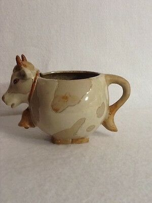 Ceramic Cow small Pitcher