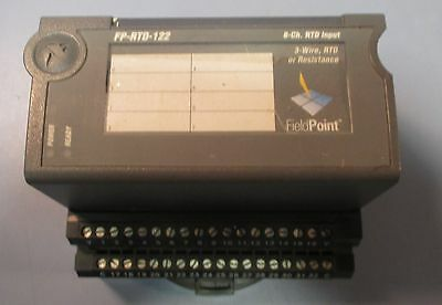 National Instruments FP-RTD-122 8-Ch. RTD Input 185197A-01 w/ Base Used