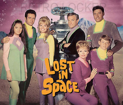 Classic Retro Sci Fi Lost In Space Space Mousemat Pad