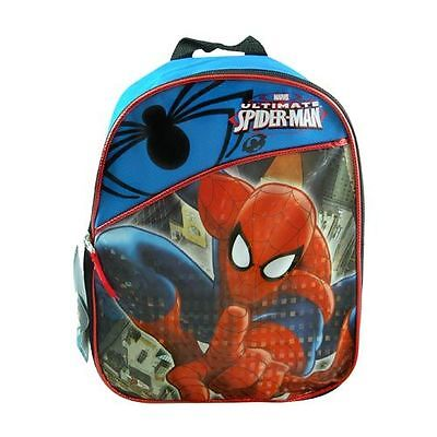 "Mini Backapck - Marvel Ultimate Spider-Man 10"" Blue Backpack 117896"