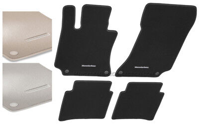 Mercedes-Benz Genuine OEM Carpeted Floor Mats 2010 to 2016 E-Class Sedan (W212)