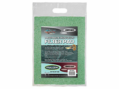Phosphate Réduction Coussin Filter Media pour Aquariums & Marres Coupe Taille • EUR 13,99