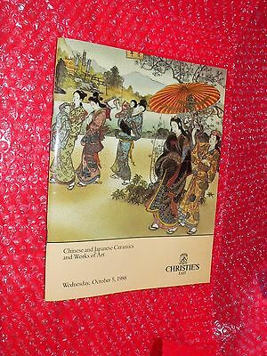 Christie's East Chinese Japanese Ceramics and Works of Art October 5, 1988 #6673