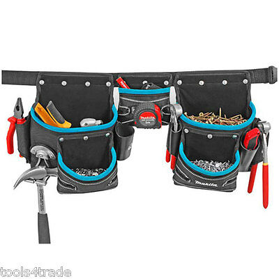Makita P-71772 3 Pouch Tool Belt Sets New Blue Range for Makita Tools & Holder