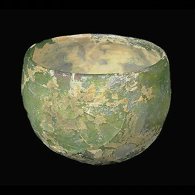 Aphrodite- Ancient Sassanian Faceted Glass Cup