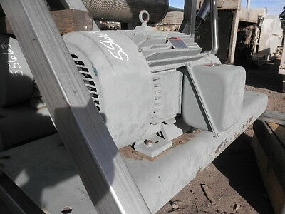 Reliance 50 HP Electric Motor, 3600 RPM