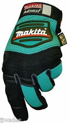 Makita 845039-A MForce1 Contractors Work Gloves - XX-Large