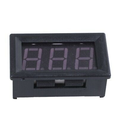 DC 0-99V 3 Wire LED Digital Display Panel Volt Meter Voltage Voltmeter Motor LW
