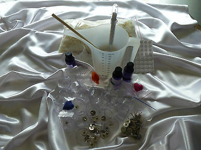 Candle Making Soy Wax Beginner's Tea Light Kit. Gift boxes & all you need.