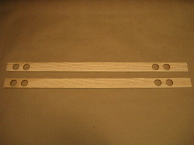 """MG """"new"""" Wood Packing Strips for Seat Runners on MGB MGBGT 62-80"""