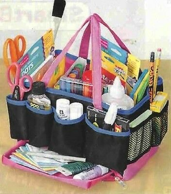 13 COMPARTMENT CRAFT organiser STORAGE TOTE BAG. Brand New