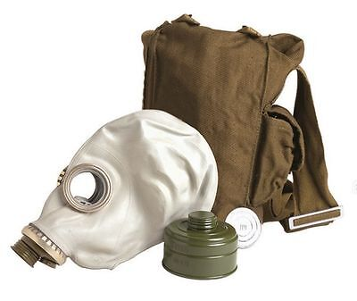 Russian gas mask, filter and bag, NEW/UNISSUED - (GP-5)