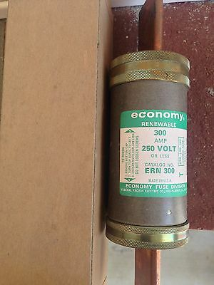 ERN 300 Federal Pacific Electric Company Economy Renewable Fuses