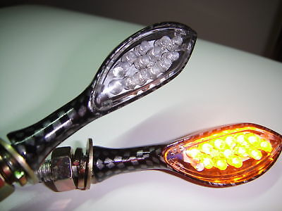 ►►2X LED MINI BLINKER INDICATORS Hond CBR 600 900 VFR