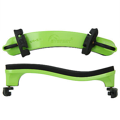 Everest Collapsible 4/4 (Full Size) Violin Shoulder Rest Neon Green