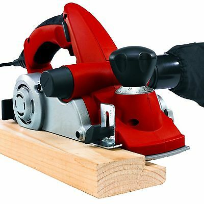 Electric Planer with Dust Bag by Einhell RT-PL 82 RED 240V With Parallel Guide