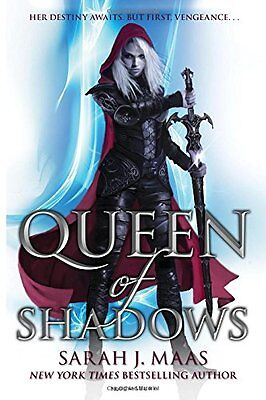 Queen of Shadows Throne of Glass 4 Fast Post New Perfect Paperback 9781408858615