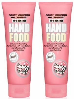 Soap And Glory Hand Food Hand Cream 125ml Pack Qty 2
