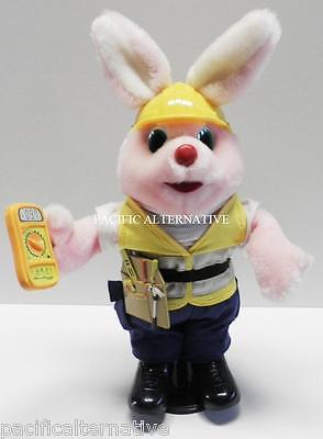 Lapin rose DURACELL electricien avec Boite - electrician bunny pink automate TBE