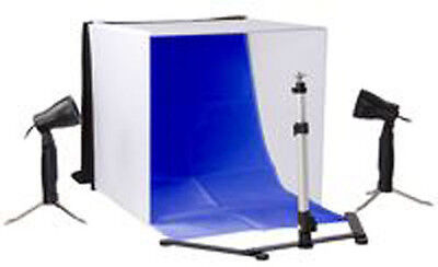Photography Studio Lighting Setup Kit with Different Backgrounds Light Box