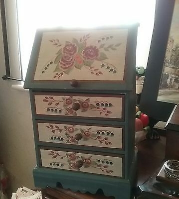Apprentice bureau / minuature 12 inches  chest drawers