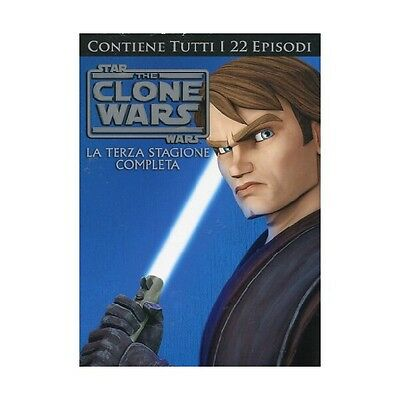 Cofanetto Star Wars - The Clone Wars - Stagione 03 (4 Dvd) Cartoni Anima-36753
