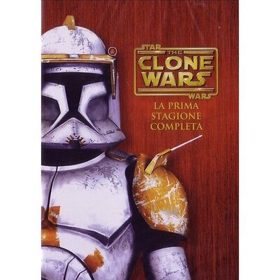 Cofanetto Star Wars - The Clone Wars - Stagione 01 (4 Dvd) Cartoni Anima-83474