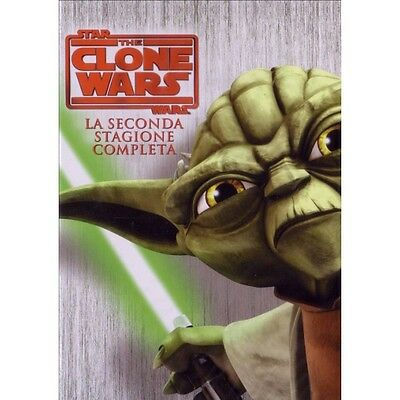 Cofanetto Star Wars - The Clone Wars - Stagione 02 (4 Dvd) Cartoni Anima-83475