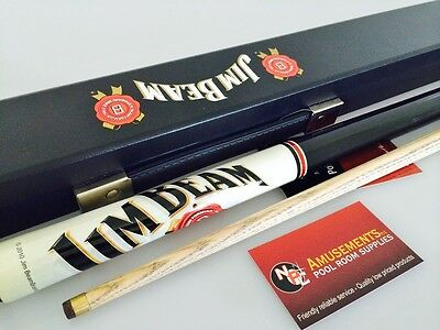 Jim Beam Pool Snooker Billiard Cue and Case Set Christmas Present Gift ON SALE