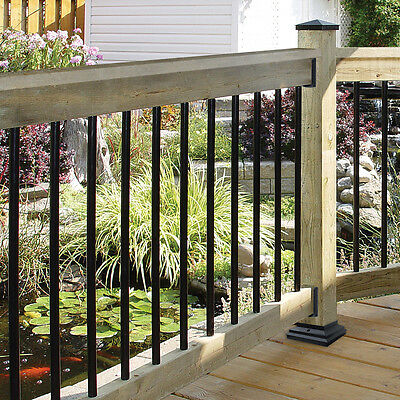 """Nuvo Iron RDPS26 ROUND GALVANIZED STEEL BALUSTER 10/PACK 3/4"""" X 26"""" LENGTH 10PK"""